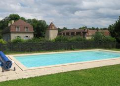 Château de Fontnoble - Biozat - Zwembad