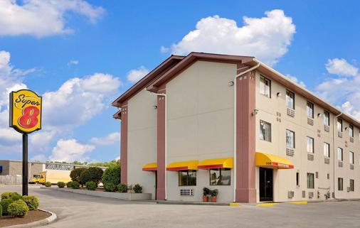 田納西詹森城速 8 酒店 - 約翰遜城 - 約翰遜城 - 建築