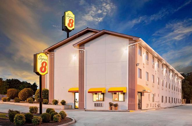 Super 8 by Wyndham Johnson City - Johnson City - Κτίριο