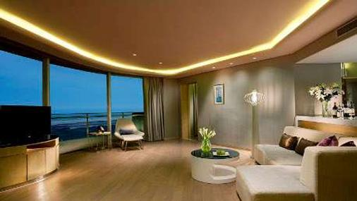 Wyndham Grand Qingdao - Qingdao - Living room