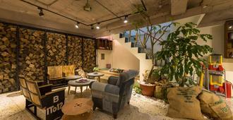 Beimen Wow Poshtel - Taipei - Area lounge