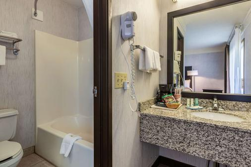 Quality Inn Lakefront - Saint Ignace - Bathroom