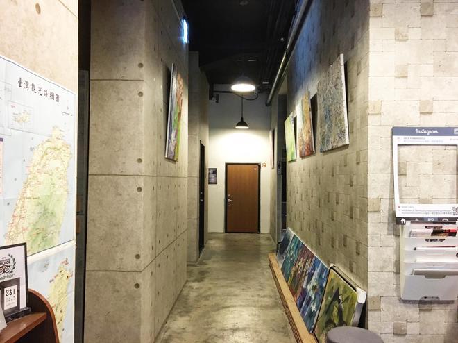昌吉一號記憶旅店 - 台北 - 門廳