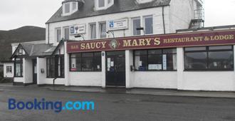 Saucy Mary's Hostel - Isle of Skye - Building