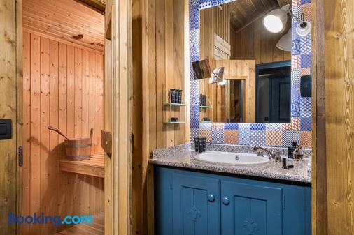 Hôtel Village Montana - Tignes - Bathroom