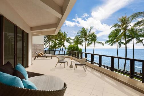 Shangri La's Tanjung Aru Resort and Spa - Kota Kinabalu - Balcony