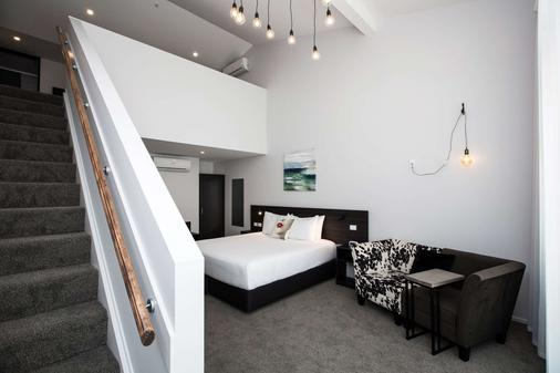 The Metrotel Motel - New Plymouth - Bedroom