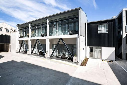 The Metrotel Motel - New Plymouth - Building