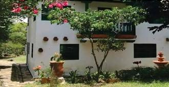 Hostal Campestre El Huerto - Вилья-де-Леива - Вид снаружи
