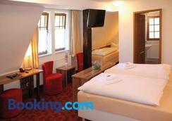 Gasthaus Goldener Hirsch - Suhl - Bedroom