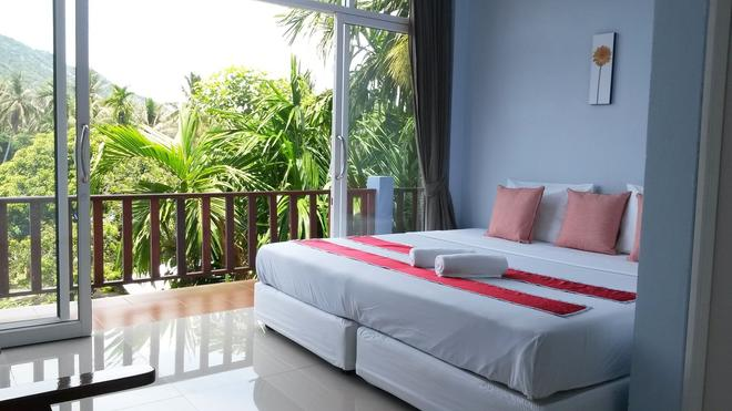 Rung Phangan Hotel - Ko Pha Ngan - Bedroom