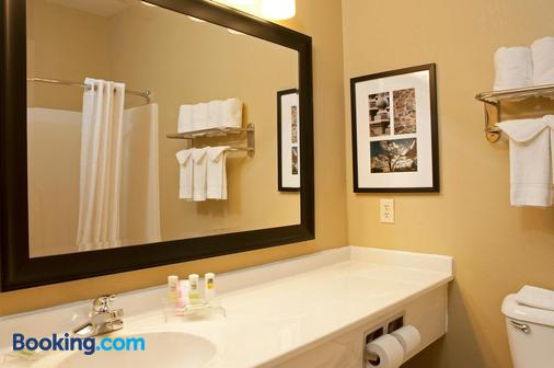 Country Inn & Suites Bloomington-Normal Airport - Bloomington - Phòng tắm