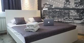 SkyHome Mini-hotel - קייב - חדר שינה