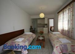 Gikas Apartments - Marmari - Bedroom
