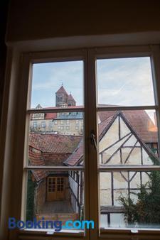 Apartmenthaus Finkenherd 5 - Quedlinburg - Balcony