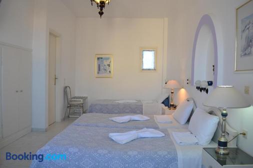 Melina Hotel - Thera - Bedroom