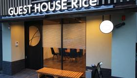 Guest House Rice Chikko - Осака - Патио