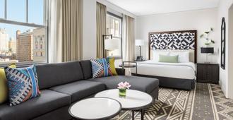 Hotel Spero - סן פרנסיסקו - חדר שינה