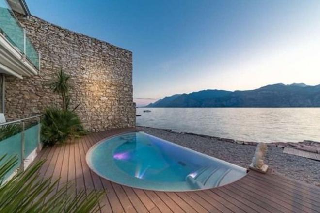 Hotel Vega - Malcesine - Pool