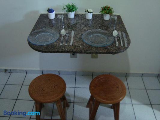 Flat Pousada da Praia - Natal - Dining room