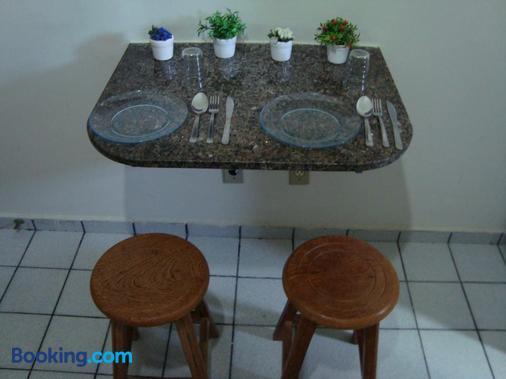 Flat Pousada da Praia - Natal - Sala de jantar