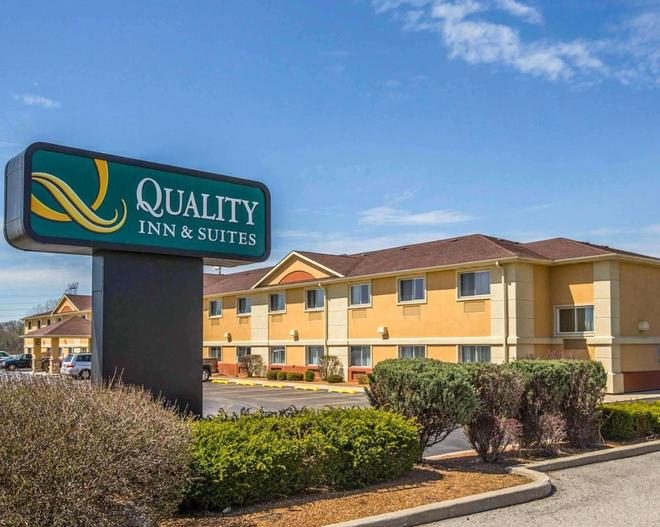 Quality Inn & Suites South - Joliet - Rakennus