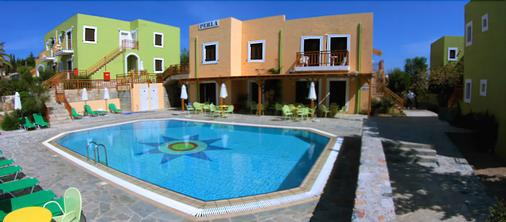 Perla Apartments - Agia Pelagia - Pool