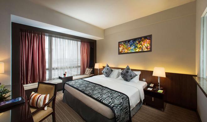 Peninsula Excelsior Hotel - Singapore - Camera da letto
