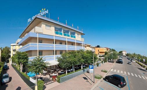 Hotel Odeon - Cervia - Building