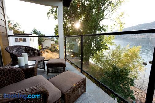 Okeefe's Landing Bed & Breakfast - Vernon - Balcony
