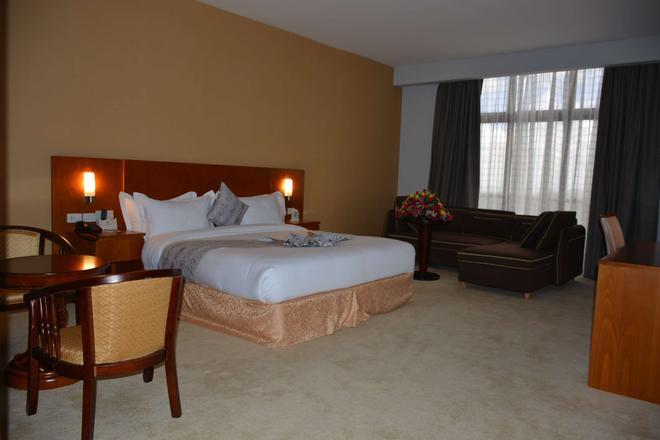 阿瑟曼酒店 - 阿迪斯阿貝巴 - 亞斯亞貝巴 - 臥室