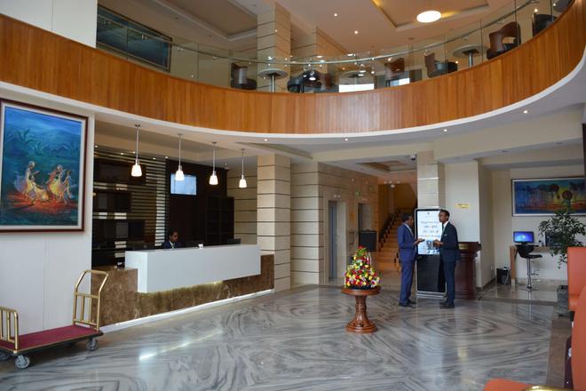 阿瑟曼酒店 - 阿迪斯阿貝巴 - 亞斯亞貝巴 - 櫃檯