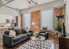 Regal Stays Corporate Condos - Downtown - Dallas - Sala de estar