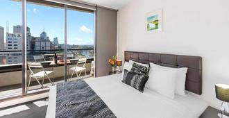 Aura On Flinders Serviced Apartments - Melbourne - Chambre