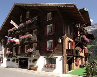 Hotel des Alpes - Champéry - Gebouw