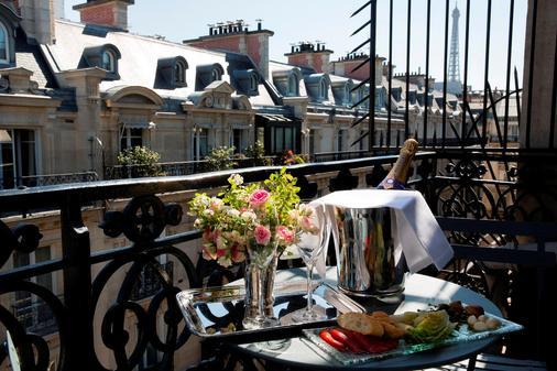 西端酒店 - 巴黎 - 巴黎 - 陽台