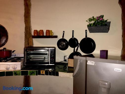 圖倫和諧格蘭品酒店 - 圖倫 - 圖盧姆 - 廚房