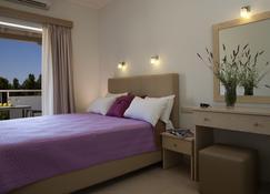 Savinos Rooms - Vasiliki - Schlafzimmer