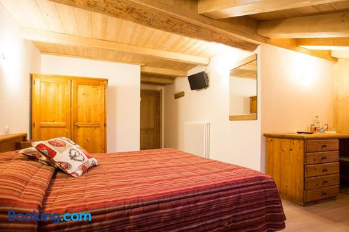 Hotel La Barme - Cogne - Bedroom