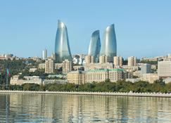 Fairmont Baku - Flame Towers - Baku - Udsigt