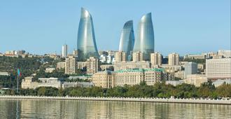 Fairmont Baku Flame Towers - Baku - Vista externa