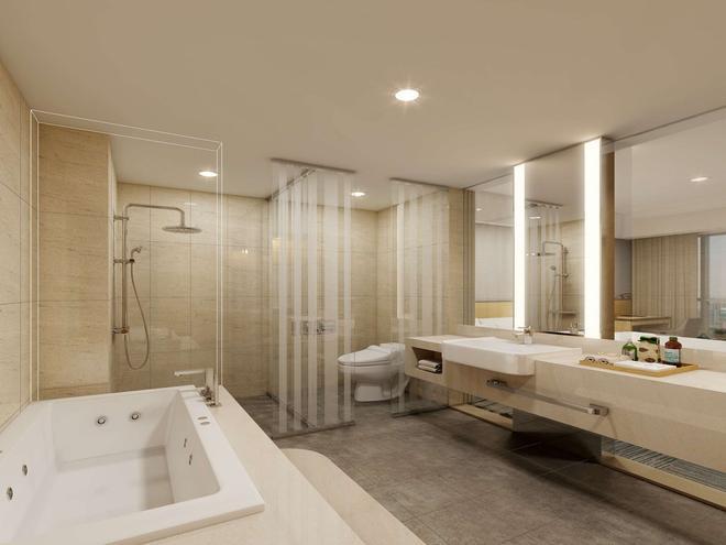 Golden Tulip Incheon Airport Hotel & Suites - Incheon - Kylpyhuone