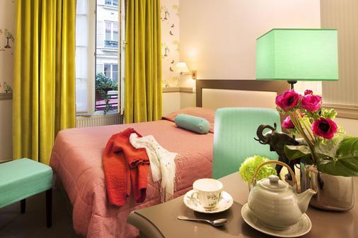 Hotel d'Albion - Pariisi - Makuuhuone