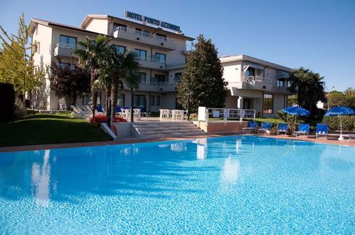 阿祖爾波圖酒店 - 西米歐涅 - 西爾米奧奈 - 游泳池