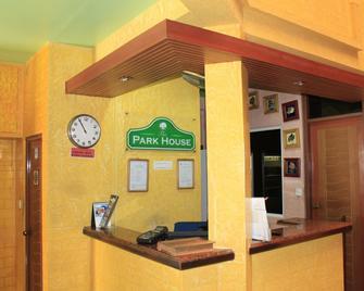 The Park House - Malé - Recepción