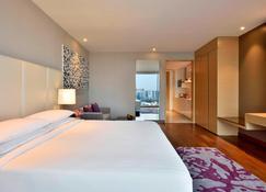 Marriott Executive Apartments Hyderabad - Hyderabad - Camera da letto