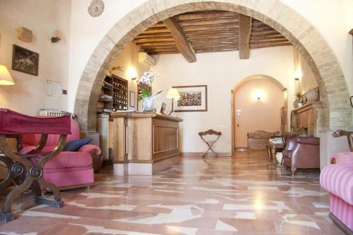 Porziuncola - Assisi - Front desk