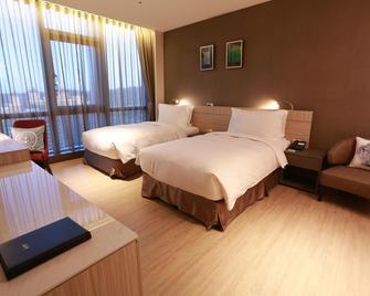Aj Hotel Hsinchu - Zhubei City - Ložnice