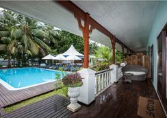 Le Relax Beach Resort - Grand'Anse Praslin - Uima-allas