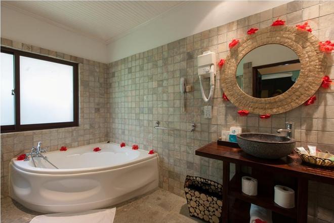 Le Relax Beach Resort - Grand'Anse Praslin - Kylpyhuone